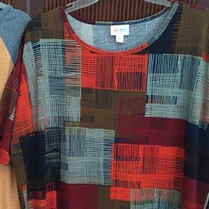 Lularoe xs irma gorgeous for fall colors